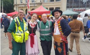 Festival first aid cover hertfordshire