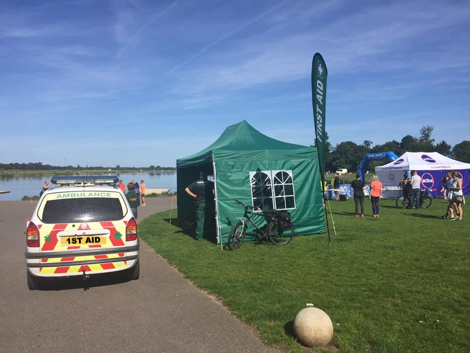 Event first aid services Warwickshire