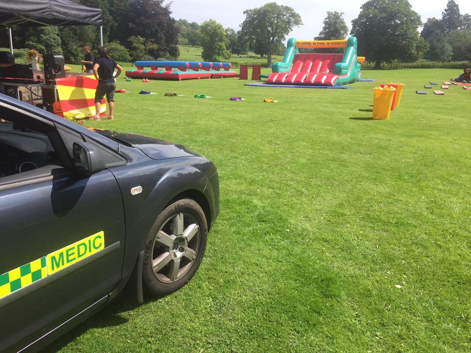 Birmingham event first aid